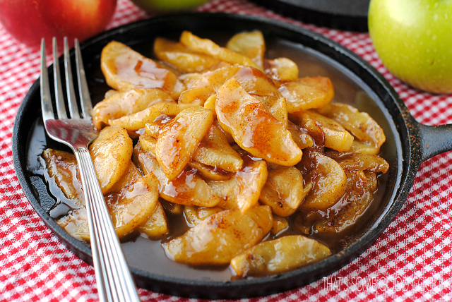Fried Apples--Cracker Barrel Copycat