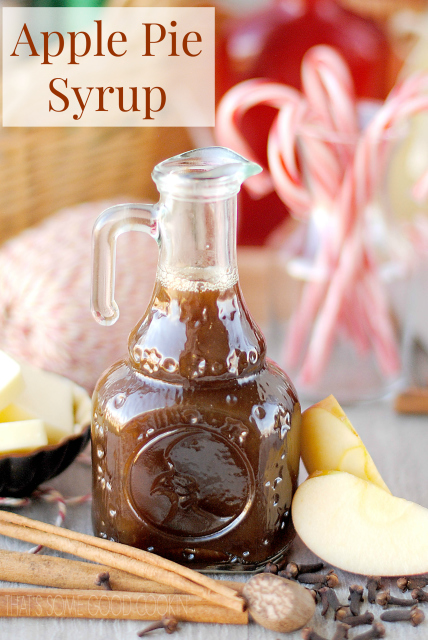 Apple Pie Syrup