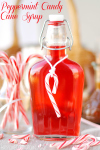 Peppermint Candy Cane Syrup