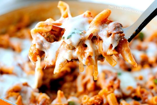 One-Skillet Italian Sausage Pasta