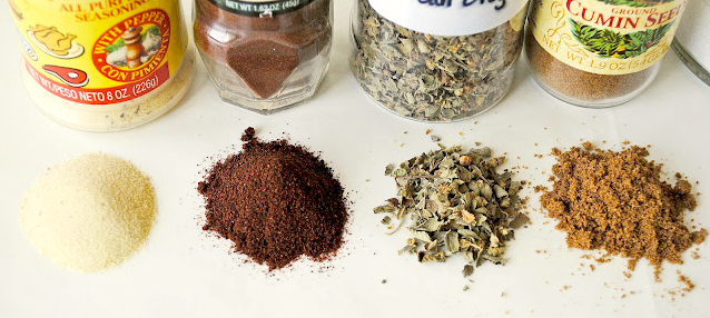 Spices for Carnitas