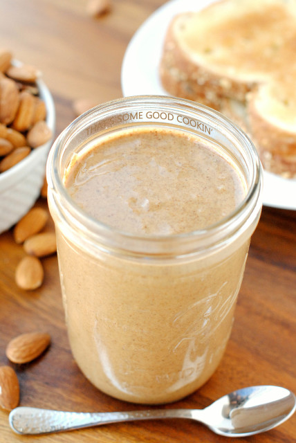 Maple-Cinnamon Almond Butter