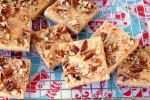 Buttery Pecan Shortbread Pan Cookies