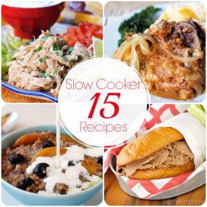 15 Great Slow Cooker Recipes
